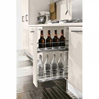 Rangement bouteilles pour intérieur de meuble de cuisine